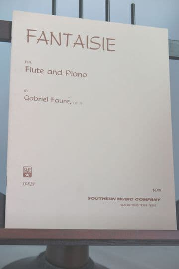 Faure G - Fantaisie Op 79 for Flute &  Piano
